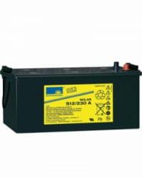 Batería de GEL 12V 230Ah Sonnenschein S12-230