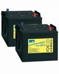 Batería de GEL 24V 130Ah Sonnenschein S12-130