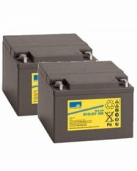 Batería de GEL 24V 27Ah Sonnenschein S12-27