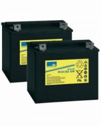 Batería de GEL 24V 32Ah Sonnenschein S12-32
