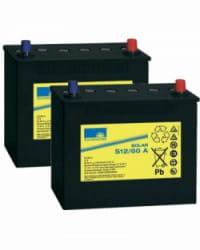 Batería de GEL 24V 60Ah Sonnenschein S12-60