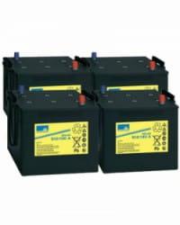 Batería de GEL 48V 130Ah Sonnenschein S12-130