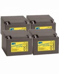 Batería de GEL 48V 27Ah Sonnenschein S12-27