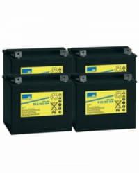 Batería de GEL 48V 32Ah Sonnenschein S12-32