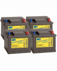 Batería de GEL 48V 41Ah Sonnenschein S12-41