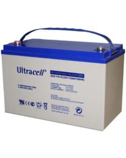 Batería GEL 12V 115Ah Ultracell UCG-115-12