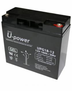 Batería GEL 12V 18Ah Upower