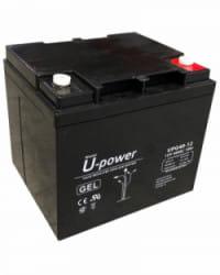 Batería GEL 12V 40Ah Upower