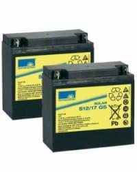 Batería GEL 24V 17Ah Sonnenschein S12-17