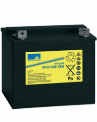 Batería GEL 32Ah 12V Sonnenschein S12-32