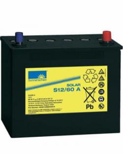 Batería GEL 60Ah 12V Sonnenschein S12-60