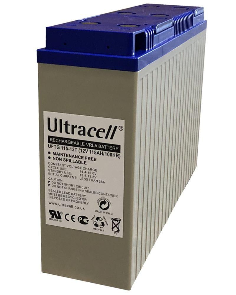 Batería GEL Frontal 115Ah Ultracell 12V