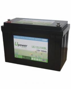 Batería Litio 12V 100Ah Upower Ecoline