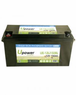 Batería Litio 12V 150Ah Upower Ecoline