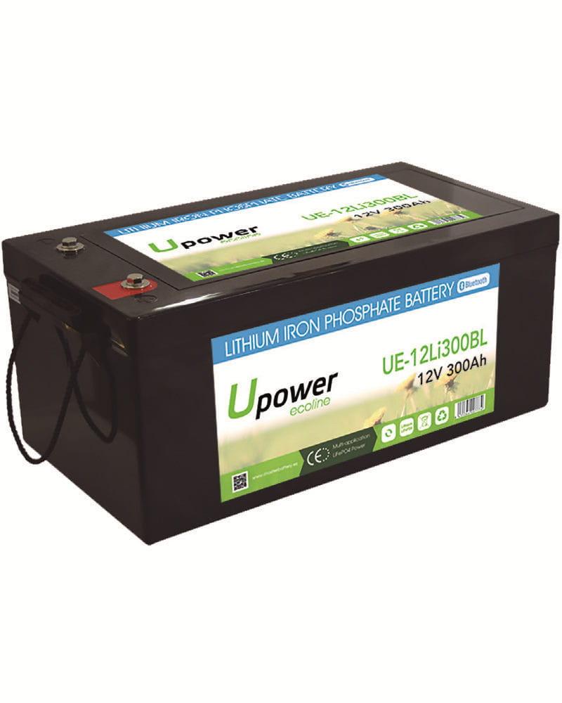 Batería Litio 12V 300Ah Upower Ecoline