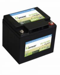 Batería Litio 12V 50Ah Upower Ecoline