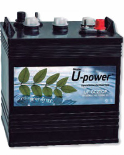 Batería 250Ah 6V UPower UP-GC2TOP