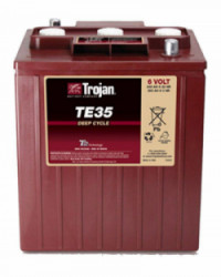 Batería 6V 245Ah TROJAN TE-35