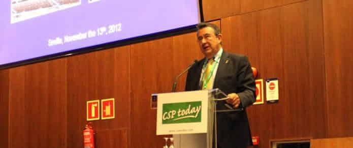 Luis Crespo, reeligido presidente de la Asociación de Energía Termosolar Europea