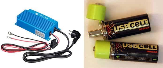 Tipos de cargadores de baterias