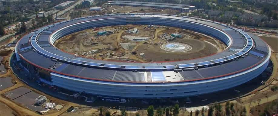 Apple va camino a la autoabastecimiento energético con Apple Campus 2