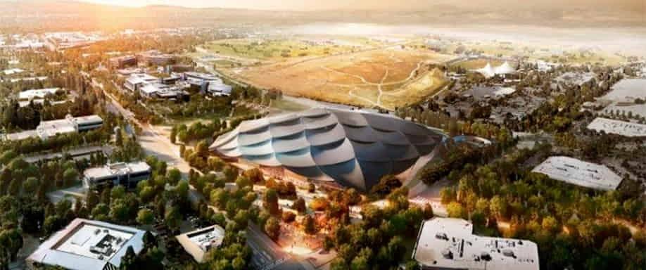 Google sigue adelante con su proyecto de arquitectura sostenible abastecida por paneles solares para su sede en Mountain View