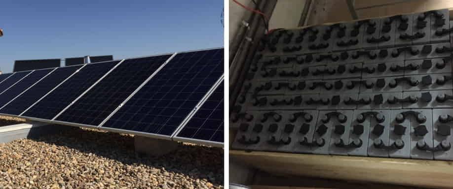 Instalación solar en Toledo