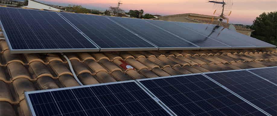 Instalación kit fotovoltaico personalizado Valencia