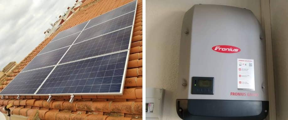 ¿Puede conectarse una lavadora a una instalación solar fotovoltaica?