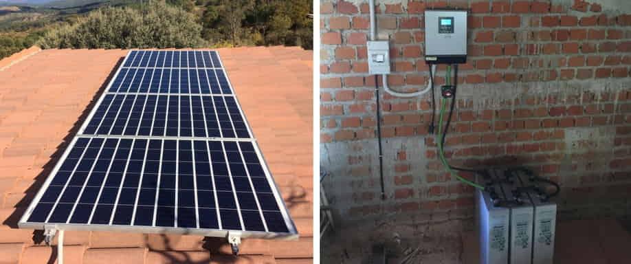 Instalación Fotovoltaica en Ávila
