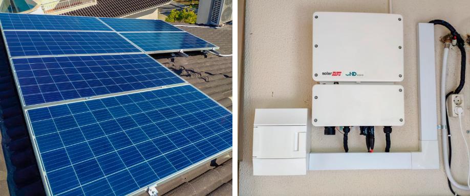 Instalación en Valencia con inversor SolarEdge