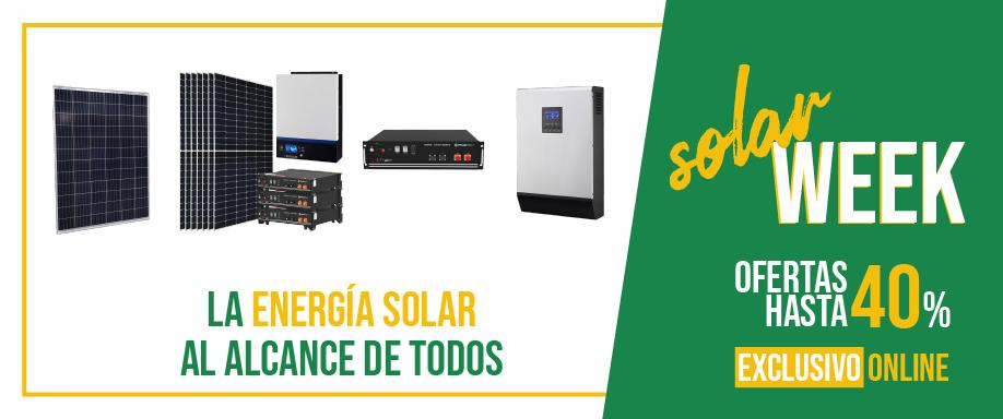 SolarWeek con descuentos de hasta el 40%