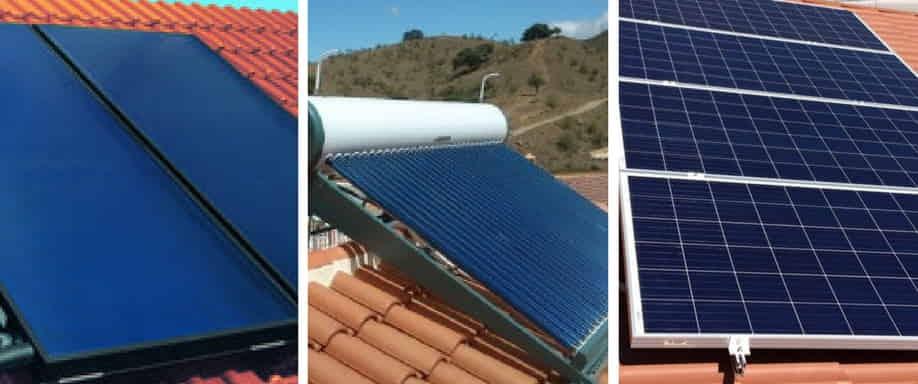 ¿Qué diferencia existe entre los paneles solares térmicos y los paneles fotovoltaicos?