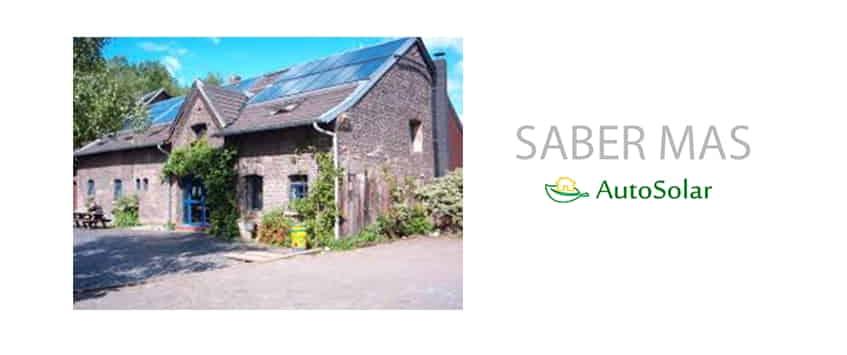 Instalación solar fotovoltaica en viviendas o empresas