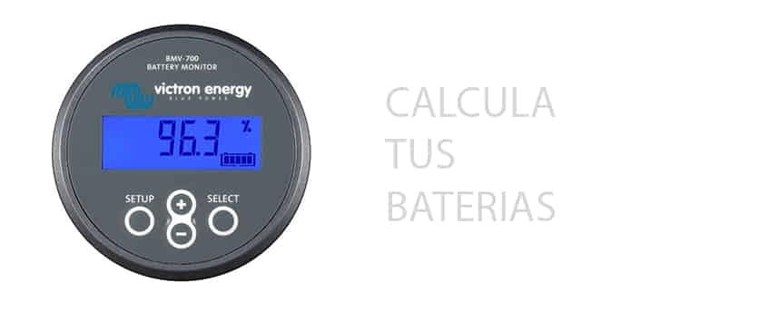 ¿Cómo calcular la capacidad de las baterías?