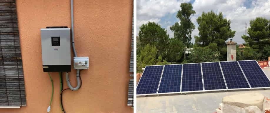 Instalación fotovoltaica Valencia