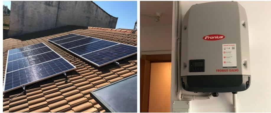 Instalación fotovoltaica de Conexión a Red en Huelva