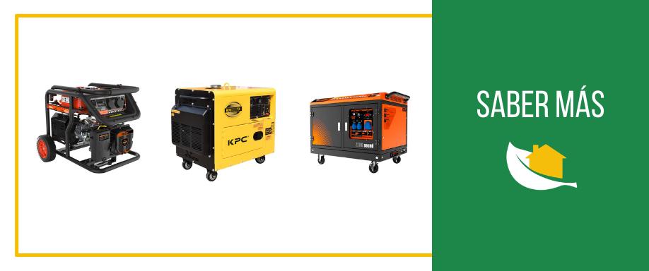 Ventajas e inconvenientes de los generadores diésel y gasolina