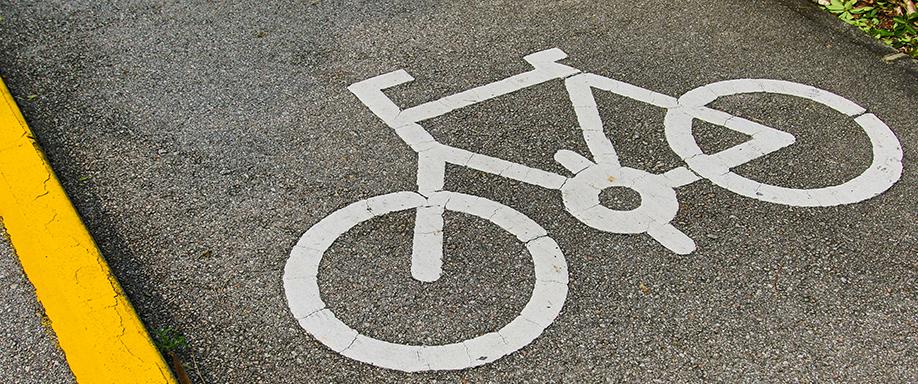 Iluminación solar del carril bici en Fuerteventura