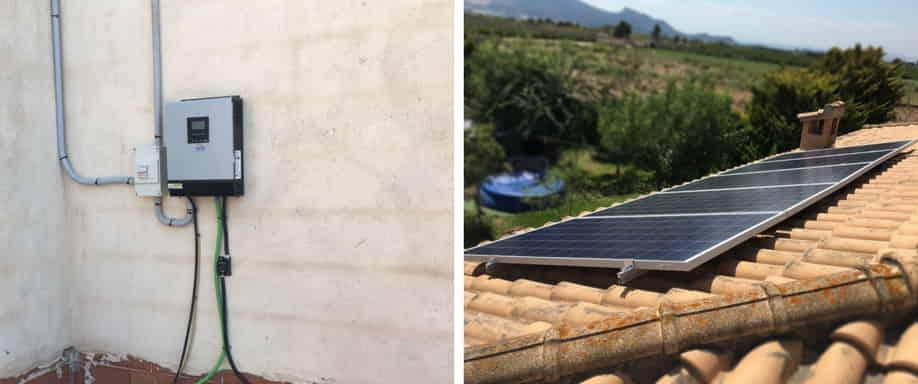 Instalación kit solar Valencia