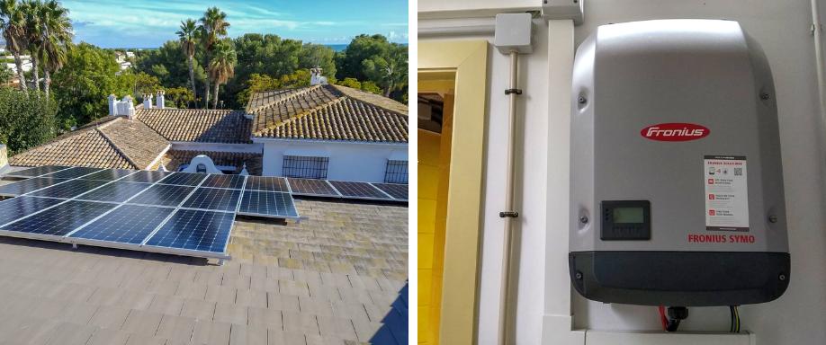 Instalación kit solar de conexión a red en Barcelona