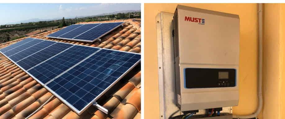 Instalación kit solar fotovoltaico Alicante