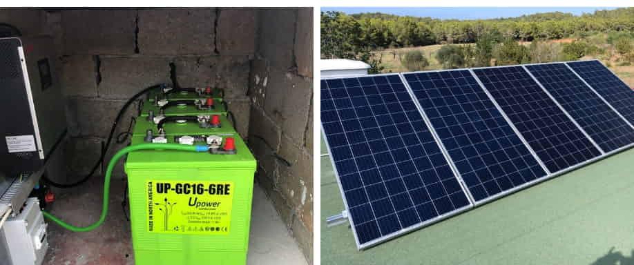 Instalación Kit Solar Casa de Campo en Valencia