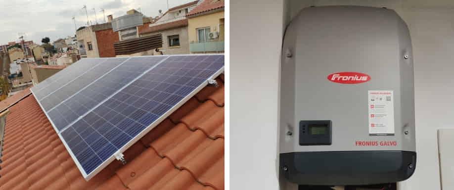 Instalación Fotovoltaica muy cerca de Barcelona
