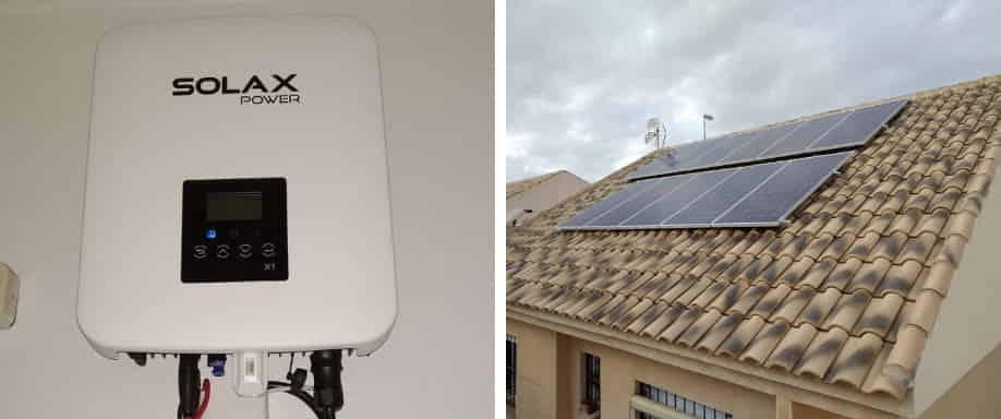 Instalación kit solar de conexión a red Murcia