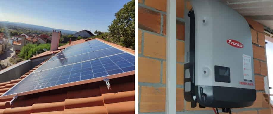 Instalación de Kit Solar Conexión a Red Ourense