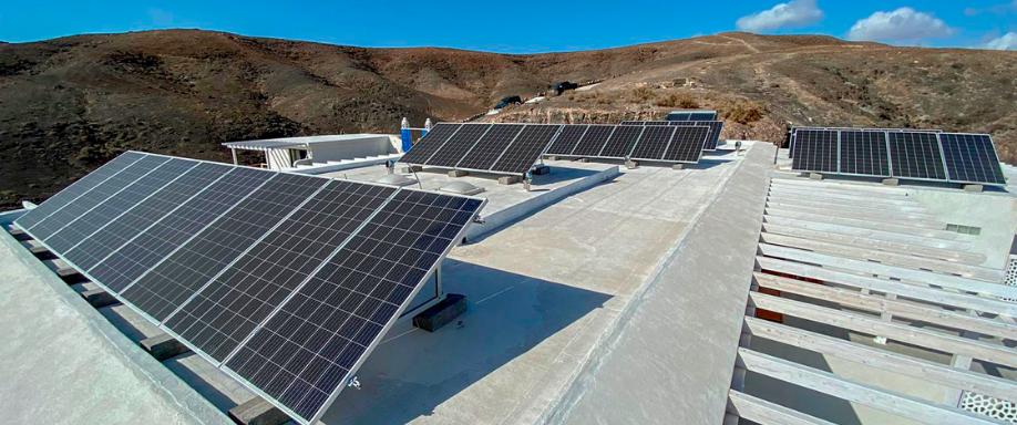 Instalación Fotovoltaica de Conexión a Red Fuerteventura
