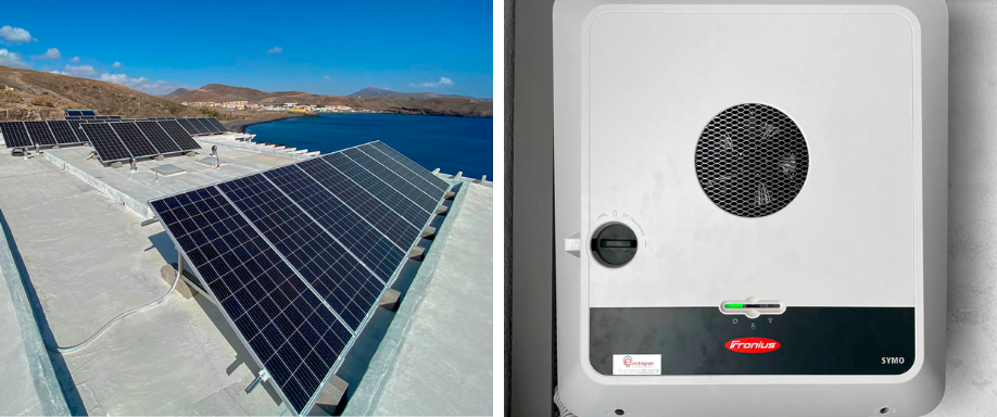 Instalación fotovoltaica Fuerteventura