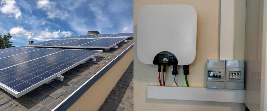 Instalación kit solar en Madrid con inversor Huawei