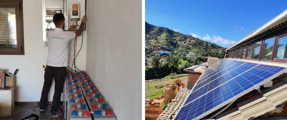 Instalación Fotovoltaica en Málaga